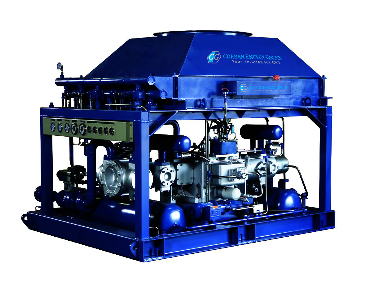 GEO-All CNG compressor unit