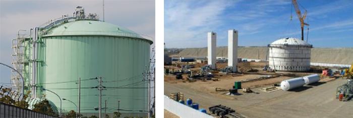 Onsite LNG Storage Tank