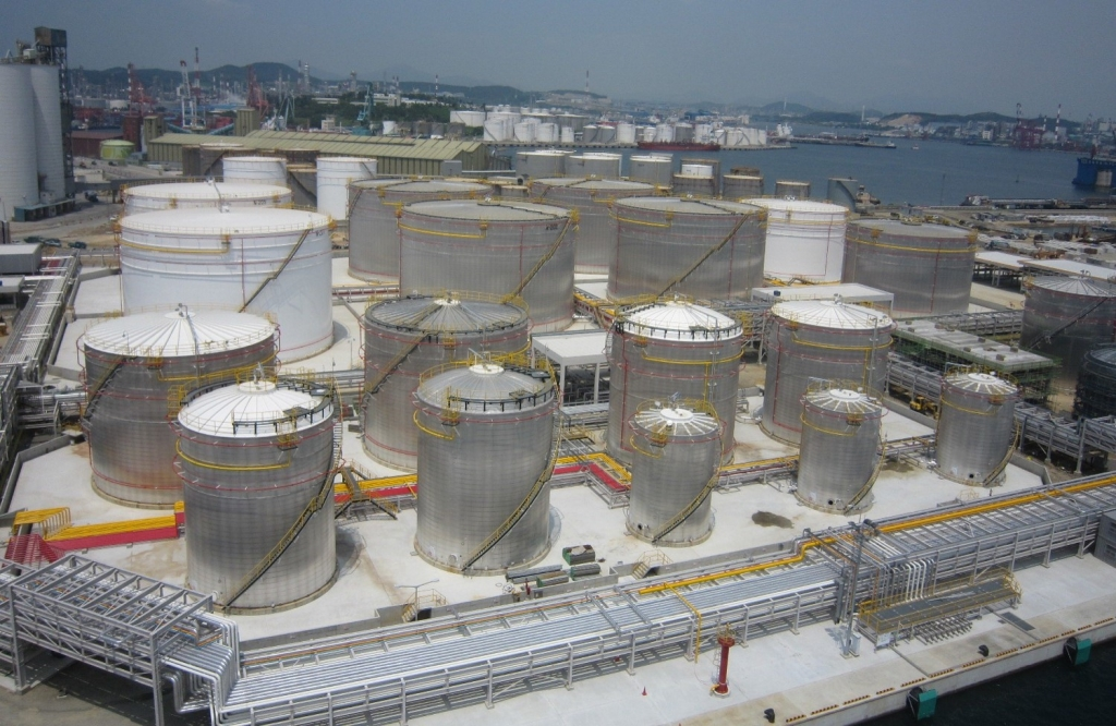 LNG terminal construction by Corban Energy Group.
